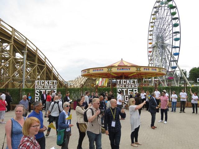 Dreamland Amusement Centre in Margate