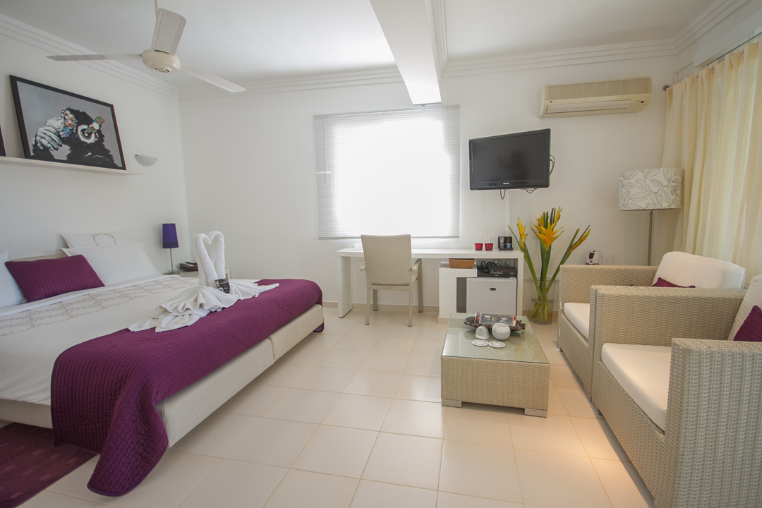 Bedroom view of Casa Ventiuno in boutique hotels