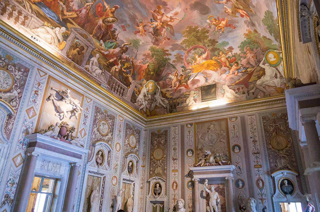 The Borghese Gallery in Rome