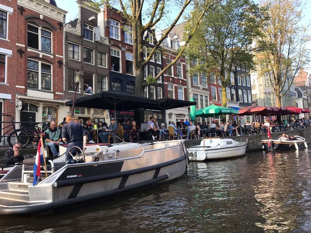 Private boat hire in Amsterdam