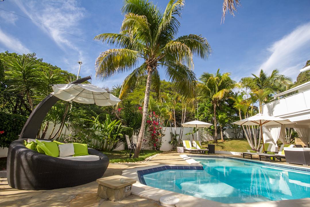 Pool view of Casa Ventiuno in boutique hotels