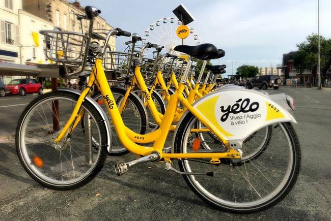 Yelo Velo HIre Bicycles