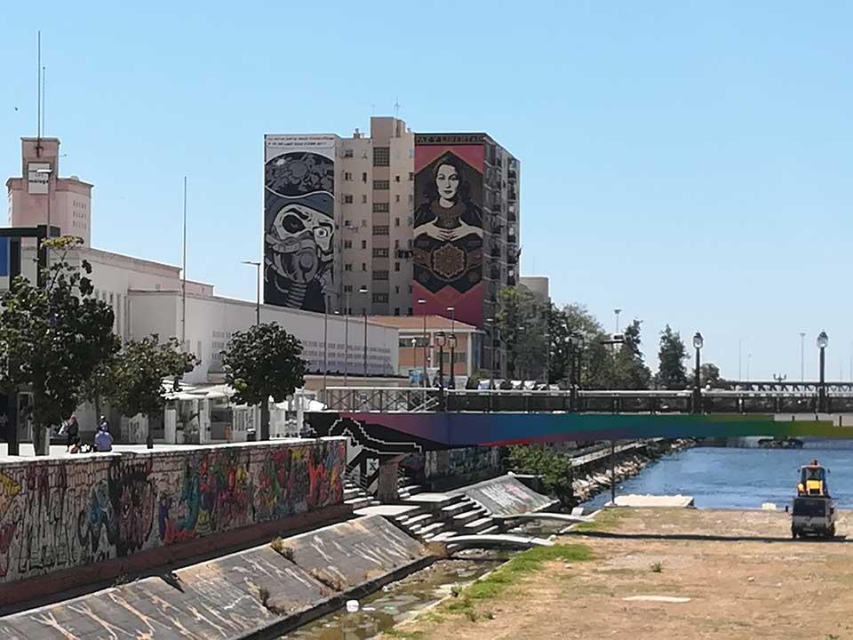 Garffiti art in Malaga