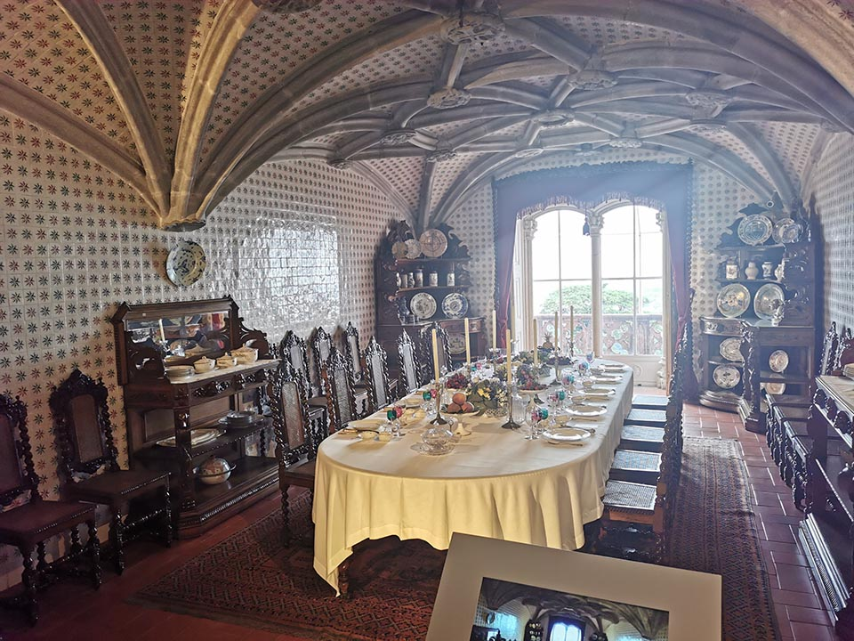 Dining Room in Pena Palace